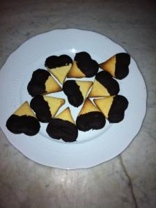 cuori al cioccolato