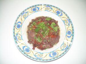 fegato marinato